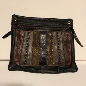 Fossil Leather Western Bag